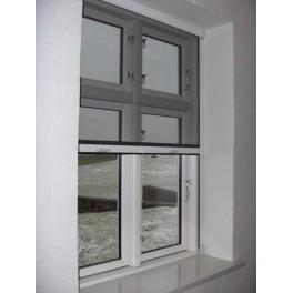 Easyfix rullenet vindue i hvid